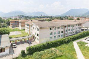 Liceo Tron Schio veduta dall'alto