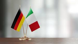 Bandiere Italia e Germania
