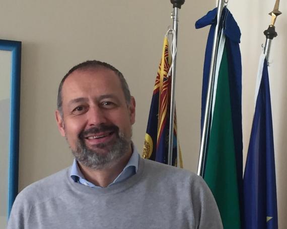 Il dirigente scolastico dell'I.I.S. Tron-Zanella prof. Silvio Grotto
