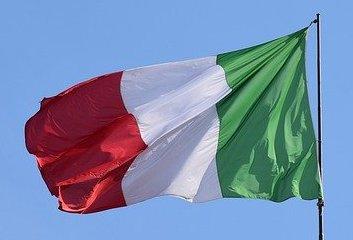La bandiera tricolore Italiana