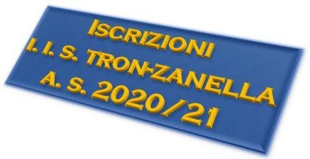 Iscrizioni Tron Zanella 2020_21