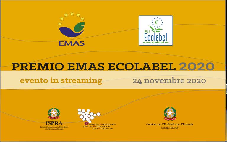 Premio EMAS ECOLABEL 2020