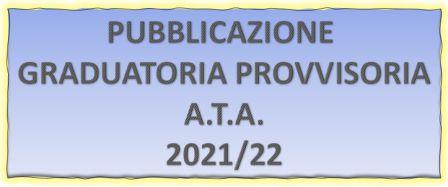 Graduatoria Provvisoria A.T.A. 2021/22